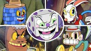 Cuphead - All Casino Bosses King Dice