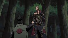 Hidan piéger par Shikamaru
