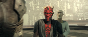 Maul storms-in