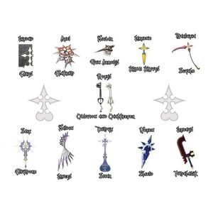 Organization XIII Weapons