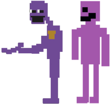 Purple Man and the Killer