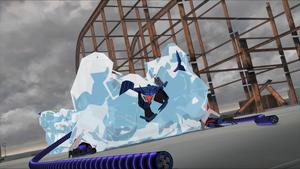 Soundwave on the Ice Rink.