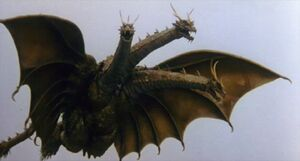King Ghidorah (Rebirth of Mothra III) 01