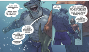 King Shark know history of Krush
