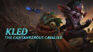 Kled Champion Spotlight Gameplay - League of Legends