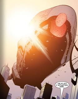 Skrull Battleship (Young Avengers, Vol 1 12)