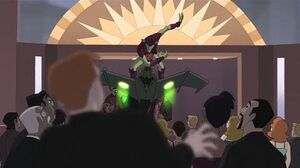 Spectacular Spider-Man (2008) Green Goblin crashes Tombstone's party