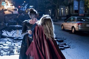 Supergirl Reign first fight
