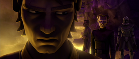 Anakin thinking