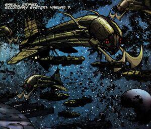 Annihilation warships