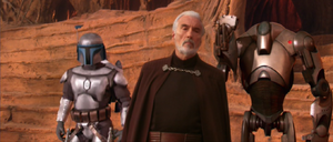 Count Dooku protected