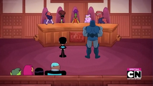 Darkseid in Court