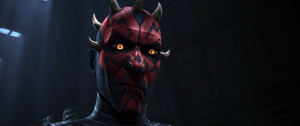 Darth Maul smirk