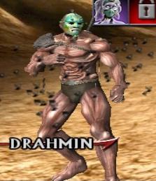 Drahmin's Costume