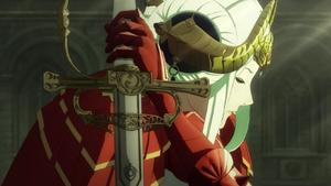 Edelgard cutscene
