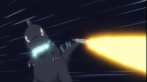 Godzilla in Dr. Stone