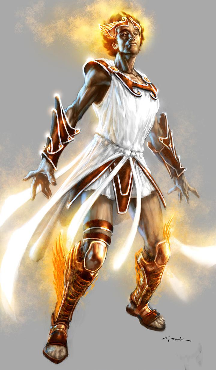 Hermes God Of War