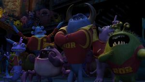 Monsters University Roar Omega Roar