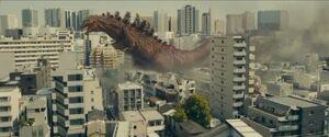 2016 Godzilla second form