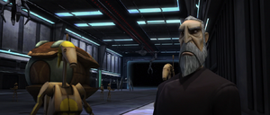 Count Dooku battle droid