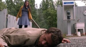 Hael-knocks-Castiel-unconscious
