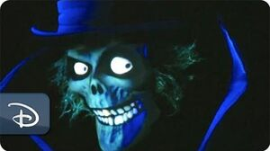 Hatbox Ghost Reappears in Haunted Mansion Disneyland Resort