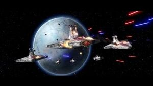 Space Battle Over Christophsis Republic Fleet VS Admiral Trench - Star Wars The Clone Wars 1080p HD