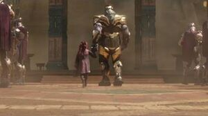 Thanos meets Gamora for the first time HD Scene (1080p)