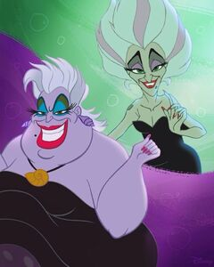 Ursula and morgana