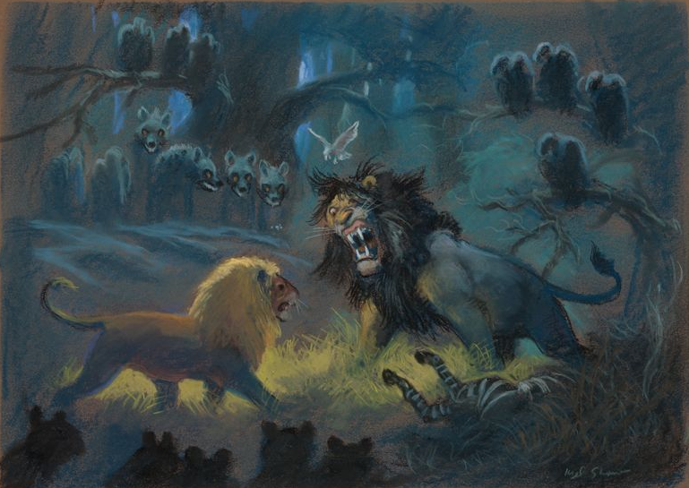 Disneylion King Concept Art