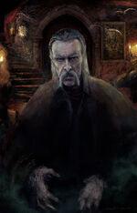 Corrected Bram stoker Dracula illustration portrait sebastien ecosse petit