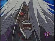 Evil Aknadin's face anime