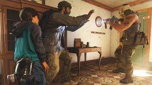 Kid Farah Kills a Russian Soldier to Revenge Her Father - Call of Duty Modern Warfare 2019