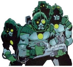 Kree cyborgs