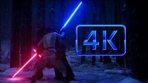 Star Wars Episode VII The Force Awakens - Finn & Rey Vs