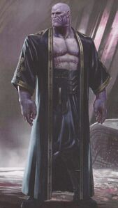Avengers Infinity War Thanos concept art 14