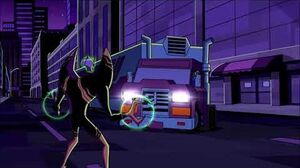 Ben 10 Omniverse - Ben, Gwen and Kevin vs Zombozo