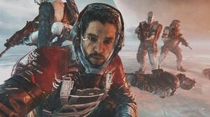 Call of Duty Infinite Warfare - All Kit Harrington Jon Snow Scenes Admiral Kotch