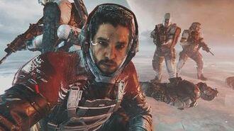 Call of Duty Infinite Warfare - All Kit Harrington Jon Snow Scenes Admiral Kotch