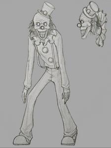 Clown concept art