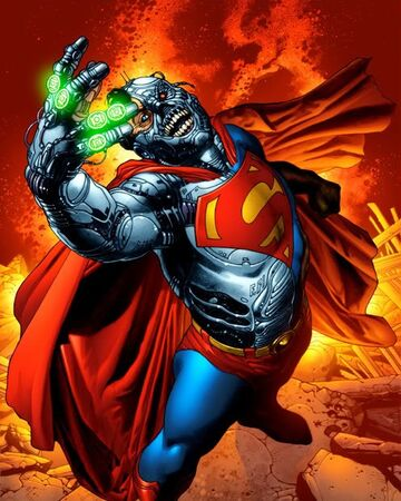 Cyborg Superman Villains Wiki Fandom