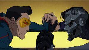 Eradicator vs Cyborg Superman