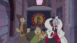 101 dalmatians 2 cruela lil lightning horace and jasper