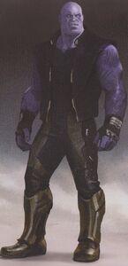 Avengers Infinity War Thanos concept art 4