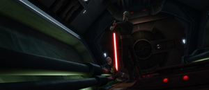 Count Dooku execution-style