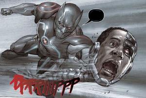Cyborg-Death
