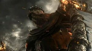 Dark Souls 3 Yhorm the Giant Boss Fight (4K 60fps)