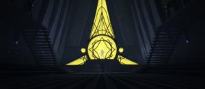 Darth Sidious corridor
