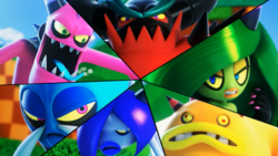Deadly Six Close Up