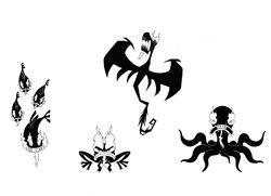 The Many Forms Of Aku V by Nes44Nes